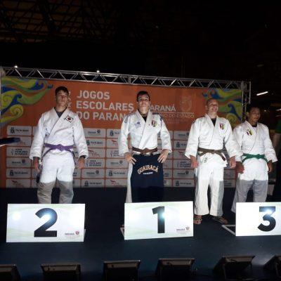 Judoca do Colégio Guairacá sagra-se campeão nos Jogos Escolares do Paraná