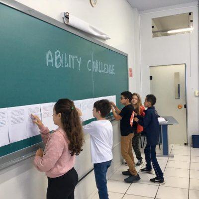 Ability Challenge: dinâmica no Colégio Guairacá estimula o aprendizado da língua inglesa
