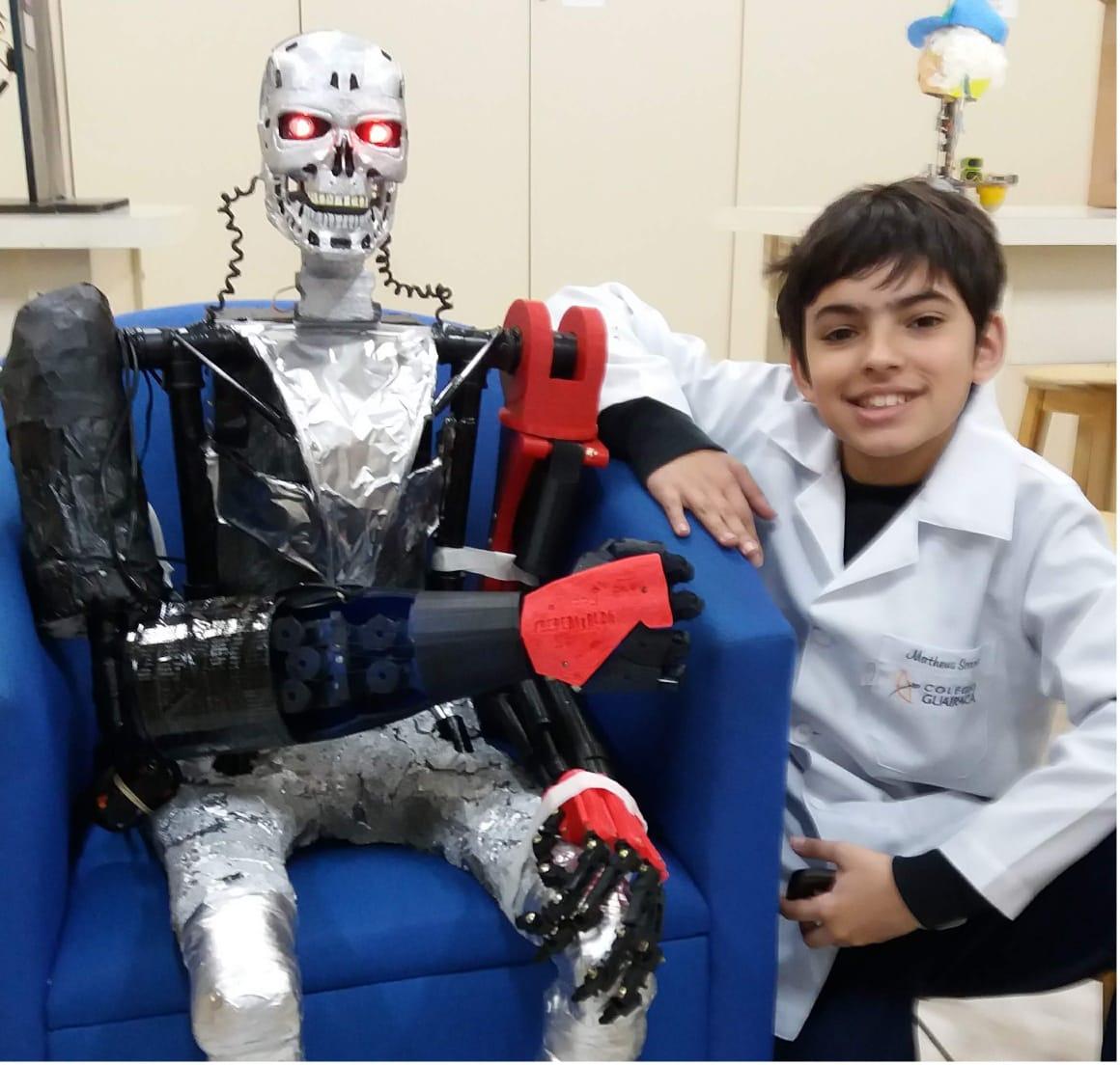 Oficina de robótica