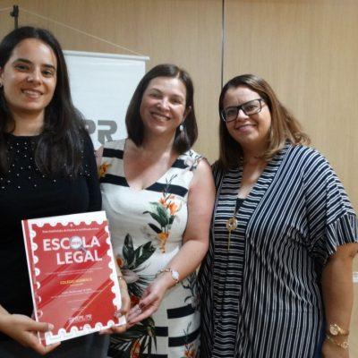 Colégio Guairacá recebe Selo Escola Legal 2020