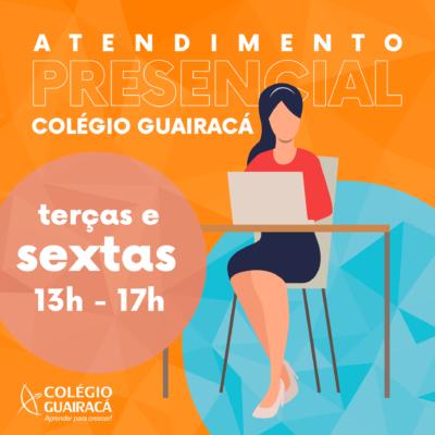 Colégio Guairacá realiza plantão presencial