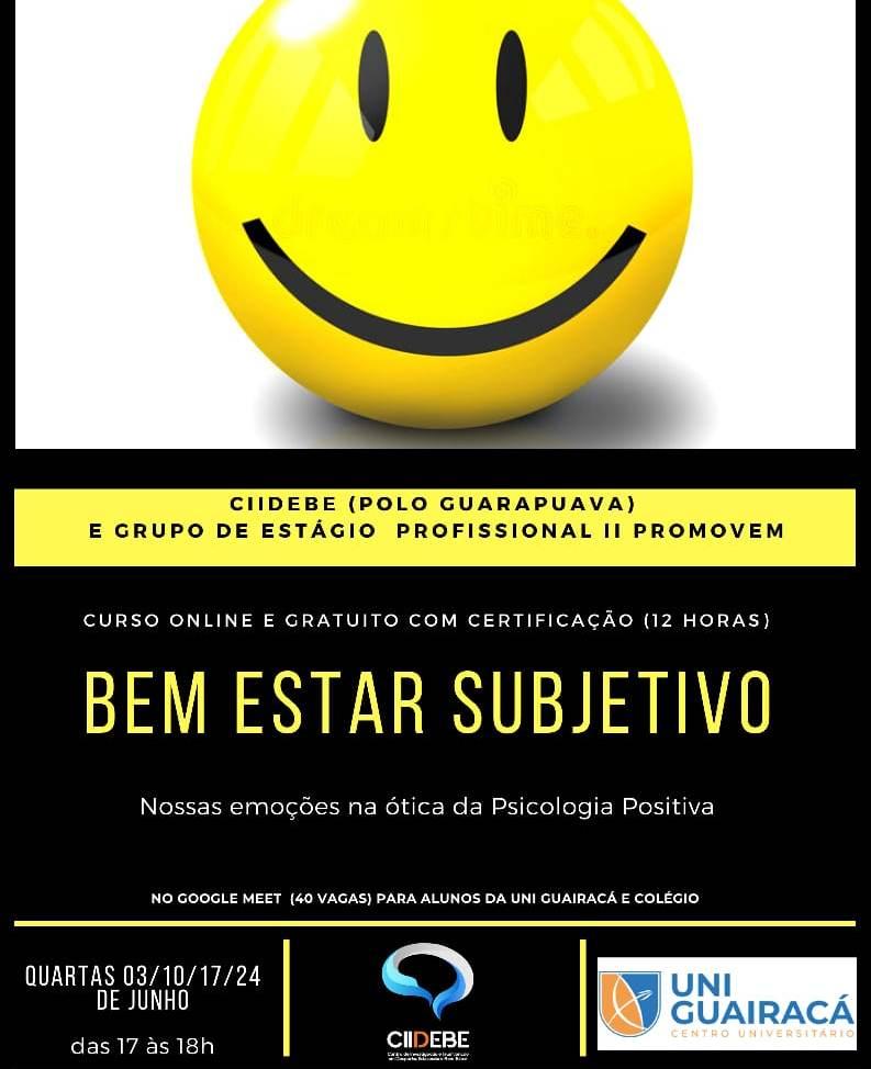 Participe do curso online 'Nossas emoções na ótica da Psicologia Positiva'