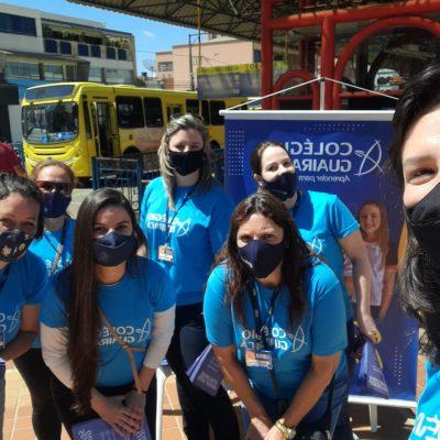 Guairacá na Praça: instituição apresenta seus projetos no Terminal da Fonte