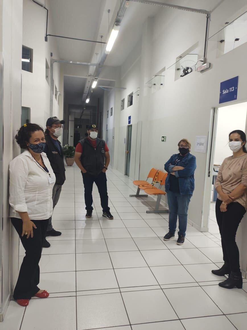 Após vistoria, Colégio Guairacá retorna com segurança às atividades