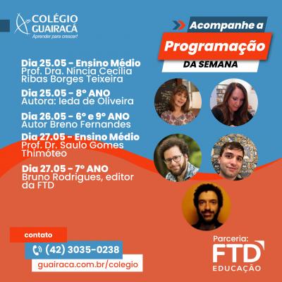 Colégio Guairacá promove Semana Literária