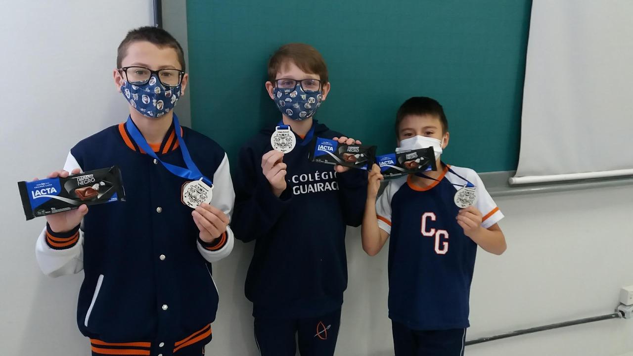 Alunos do 6° ano participam de competição matemática