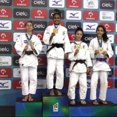 Judoca do Colégio Guairacá, Camile Tavares conquista classificação para Seletiva Olímpica