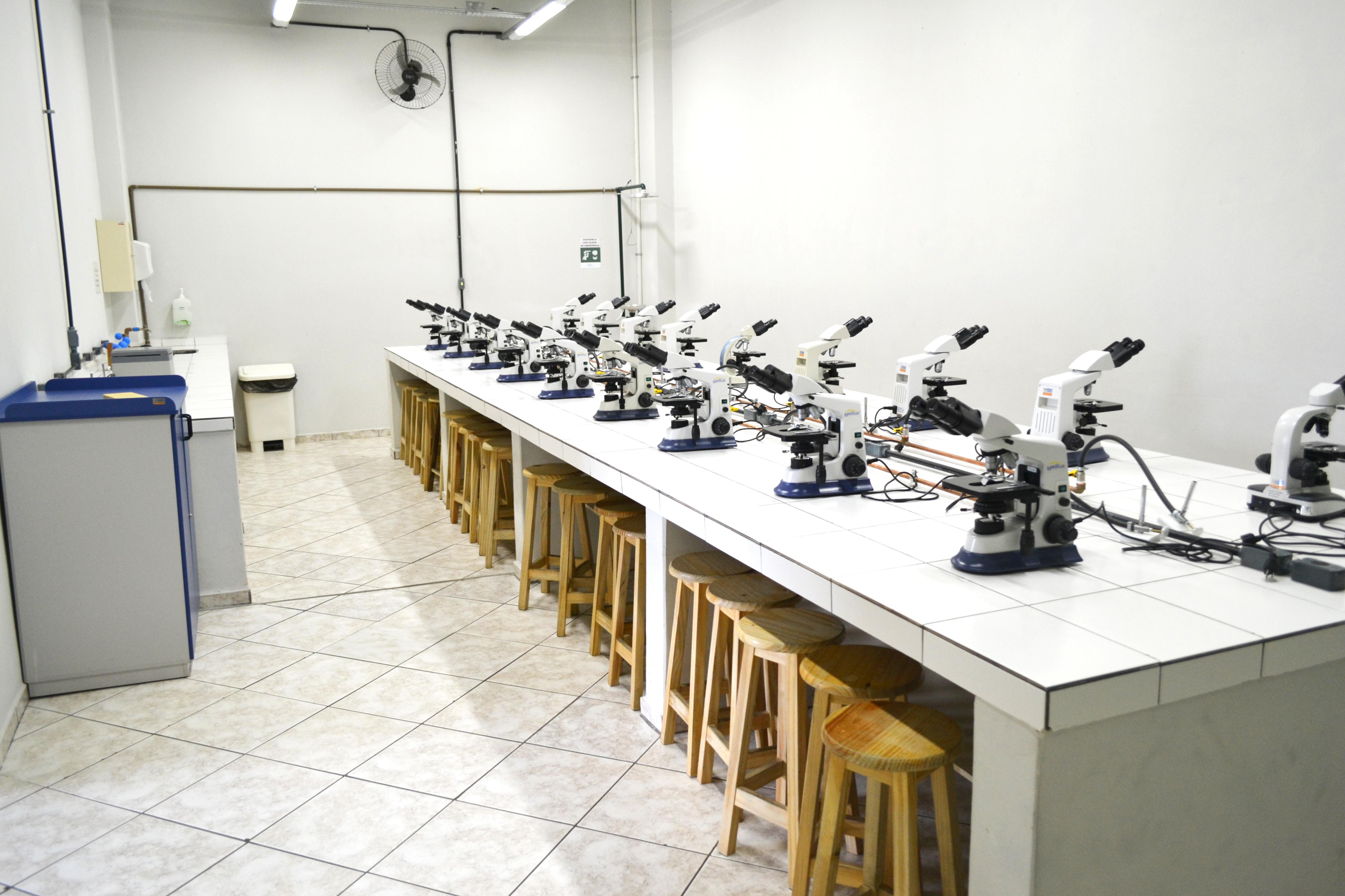 Laboratório de Citologia e Histologia