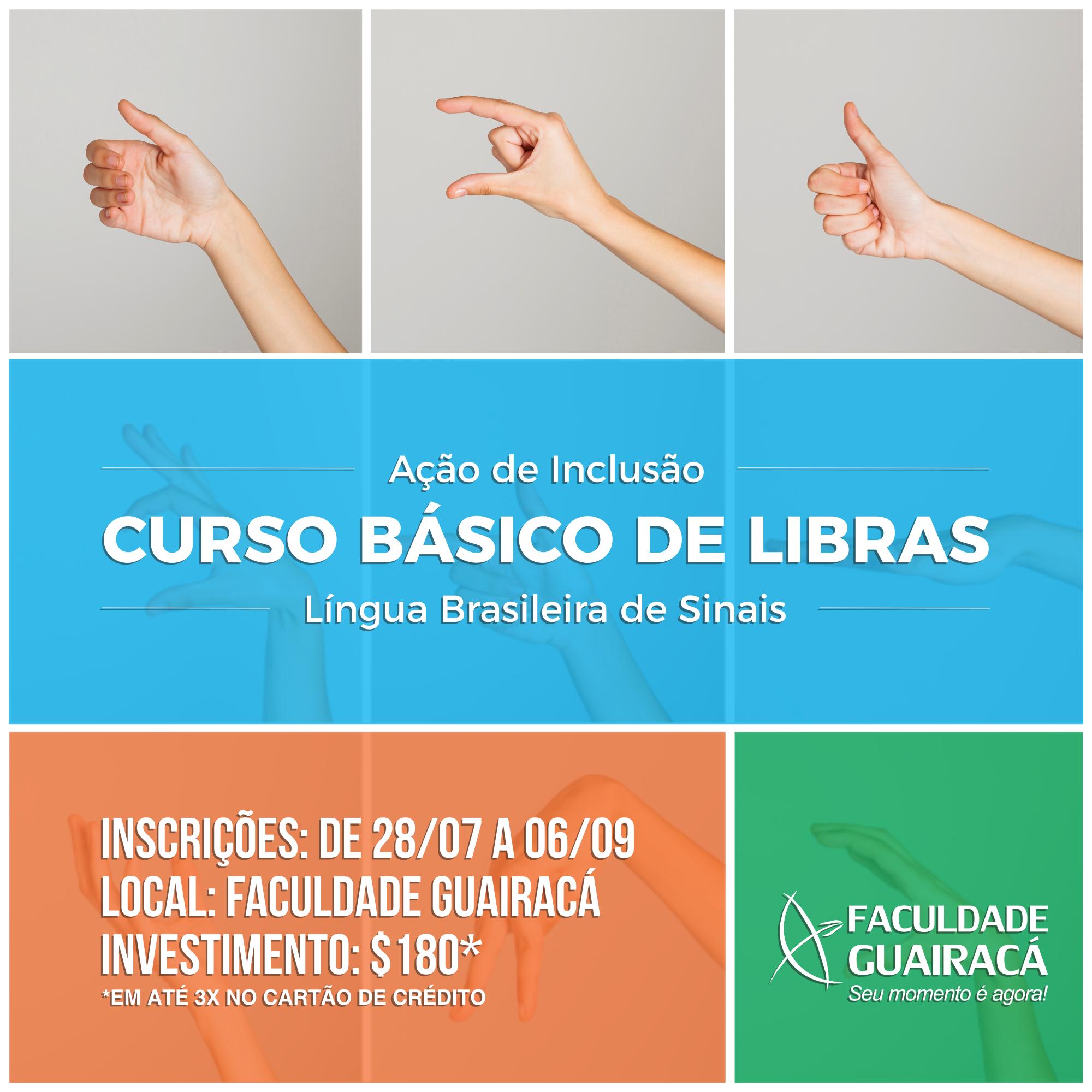 Curso Basico de Libras - Facebook